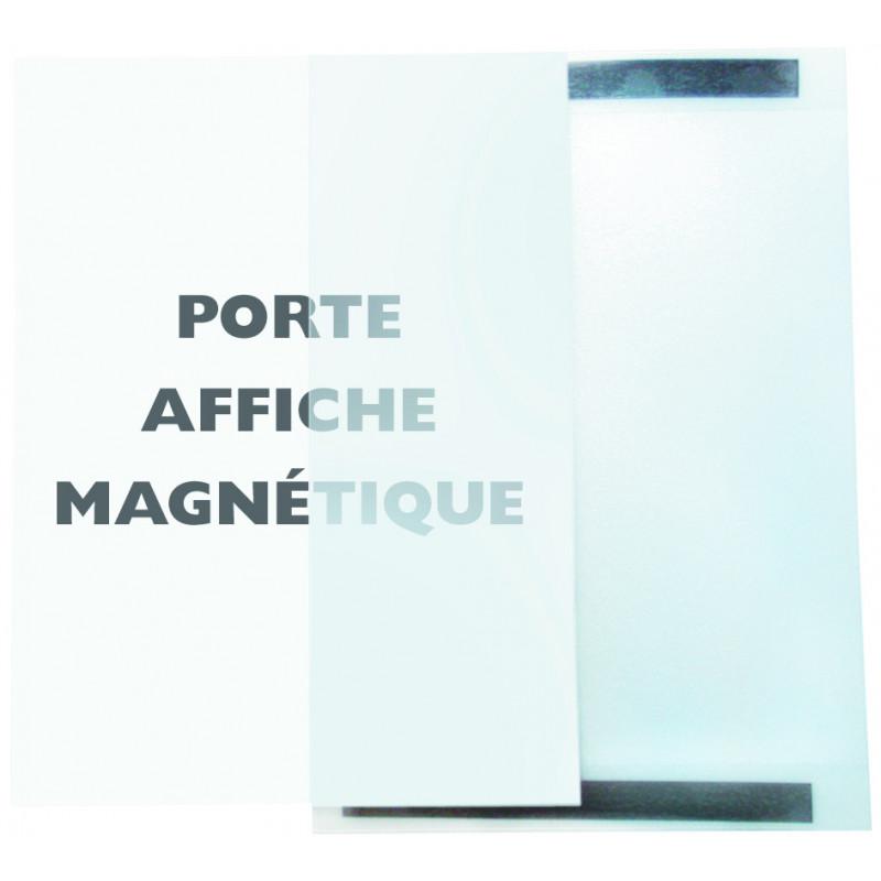 Porte visuel A4 magnétique horizontal