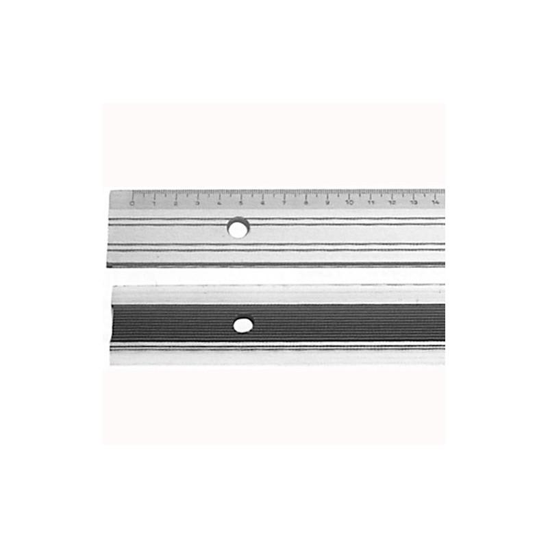 Règle de coupe graduée 60cm en aluminium