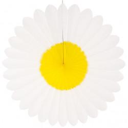 Fleur blanche et jaune...