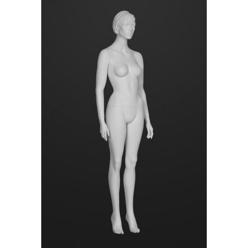 Mannequin Femme  Cheveux sculptés