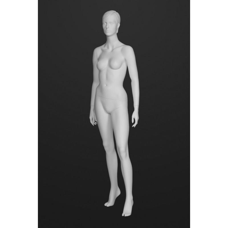 Mannequin Femme T8 -Cheveux sculptés