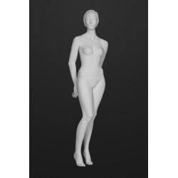 Mannequin Femme Cheveux sculptés T9