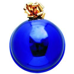 BOULE THERMOFORMEE pour Noel 40cm -coloris Bleu