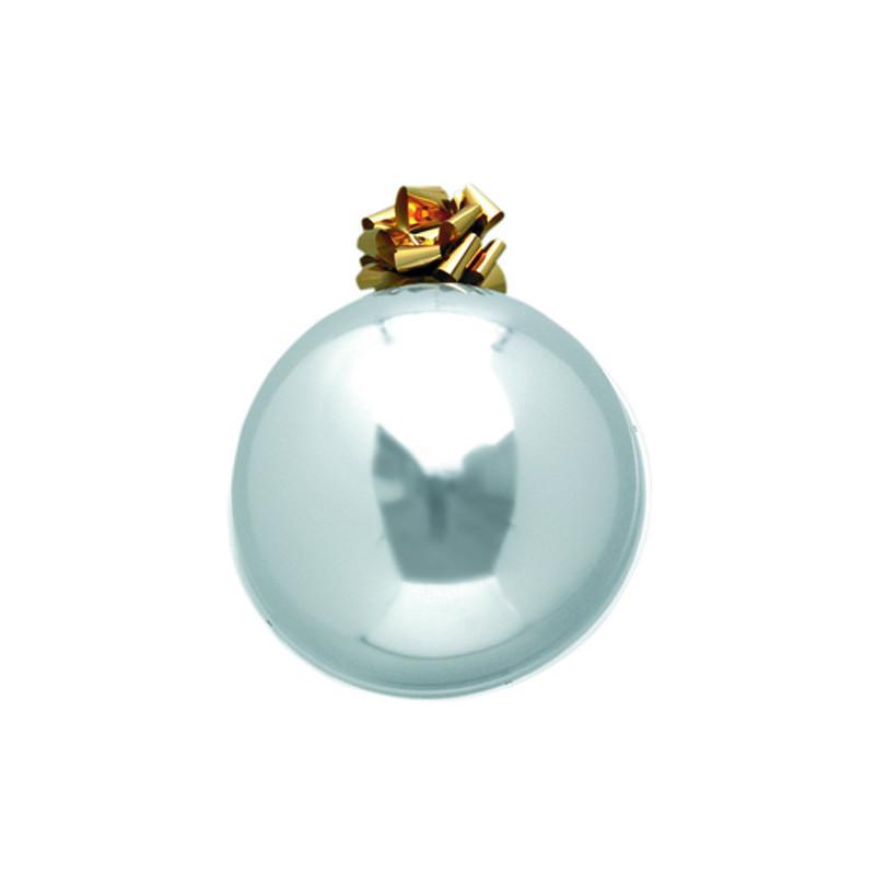 Boule de Noel  55cm -Argent