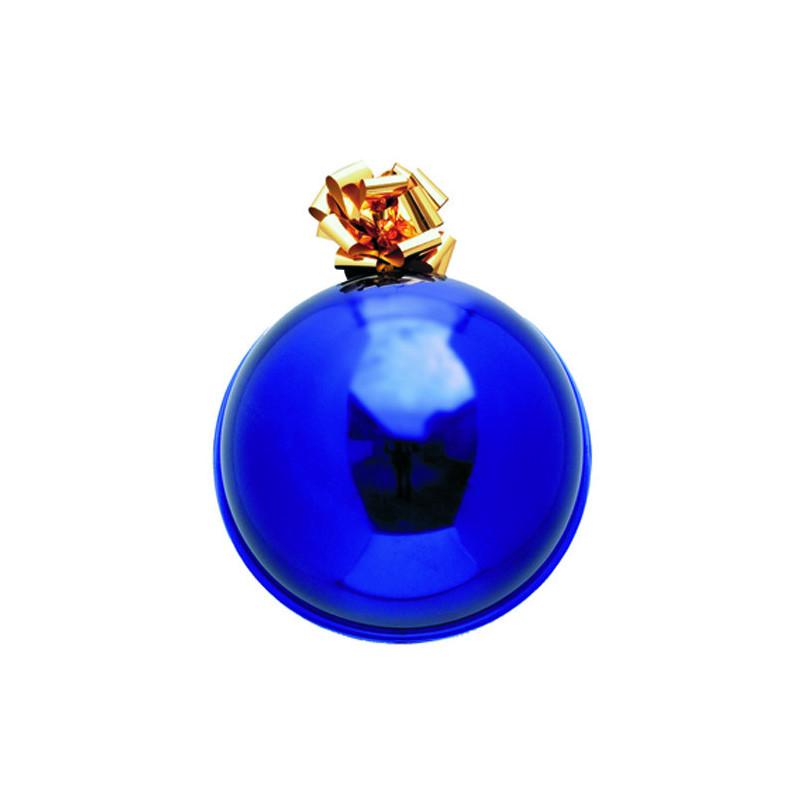 Boule de Noel diamètre 55cm bleu