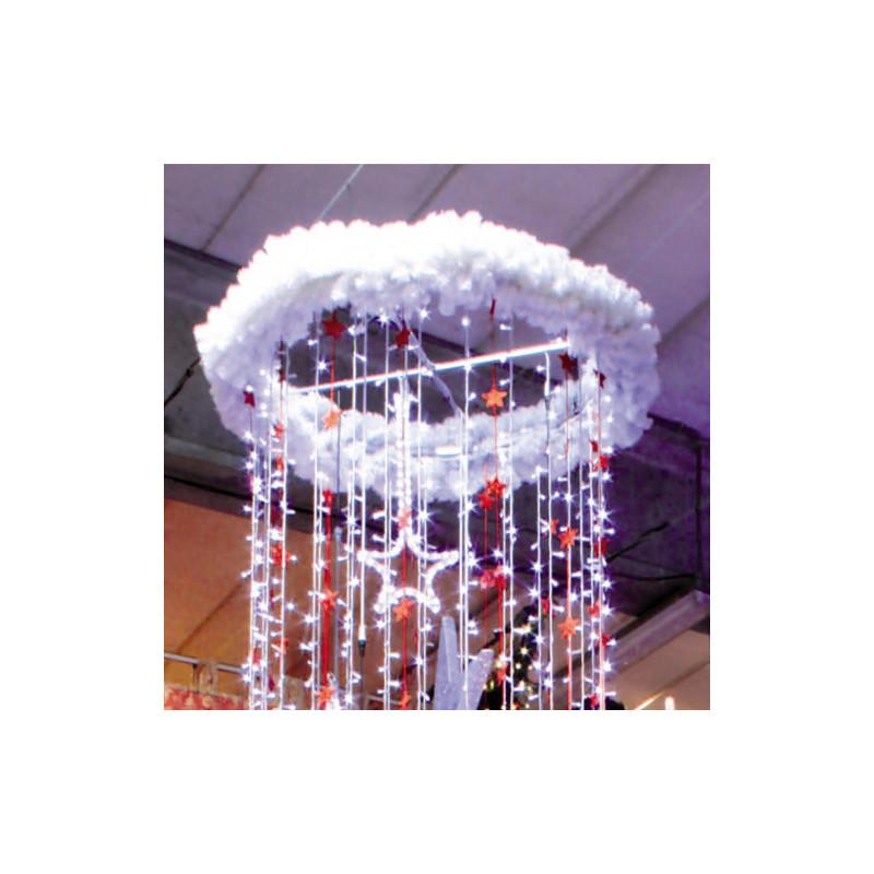 Structure ronde en métal 115 cm à suspendre