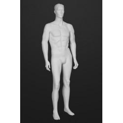 Mannequin Illusion Homme avec tête cheveux sculptés