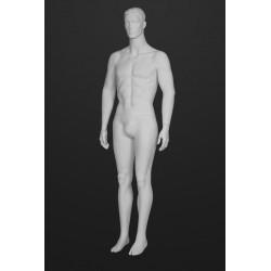 Mannequin Illusion Homme avec tête cheveux sculptés type 21