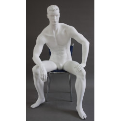 Mannequin Homme assis -...