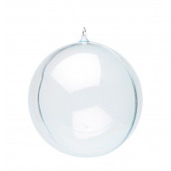 Boule transparente 290mm - en 2 parties
