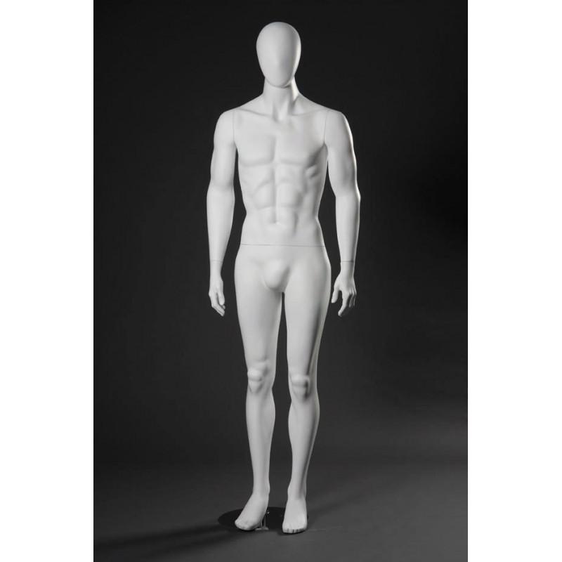 Mannequin Stylisé Homme type 37 blanc
