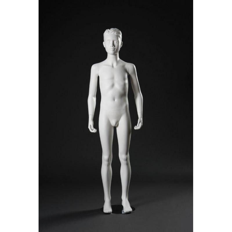 Mannequin Junior Garçon 10-12 ans cheveux sculptés