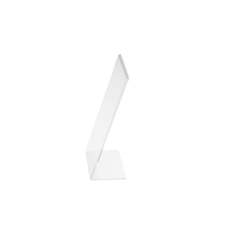 Chevalet plexiglas 1/3 A4 vertical