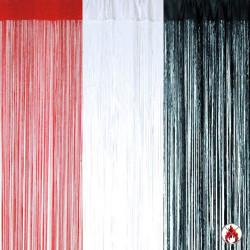 Rideau de fils  300 x 500 cm  IGNIFUGÉ