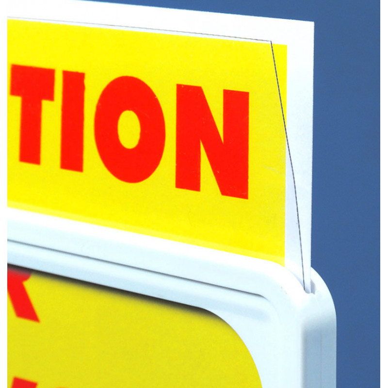 Pochette PVC pour cadre  A4