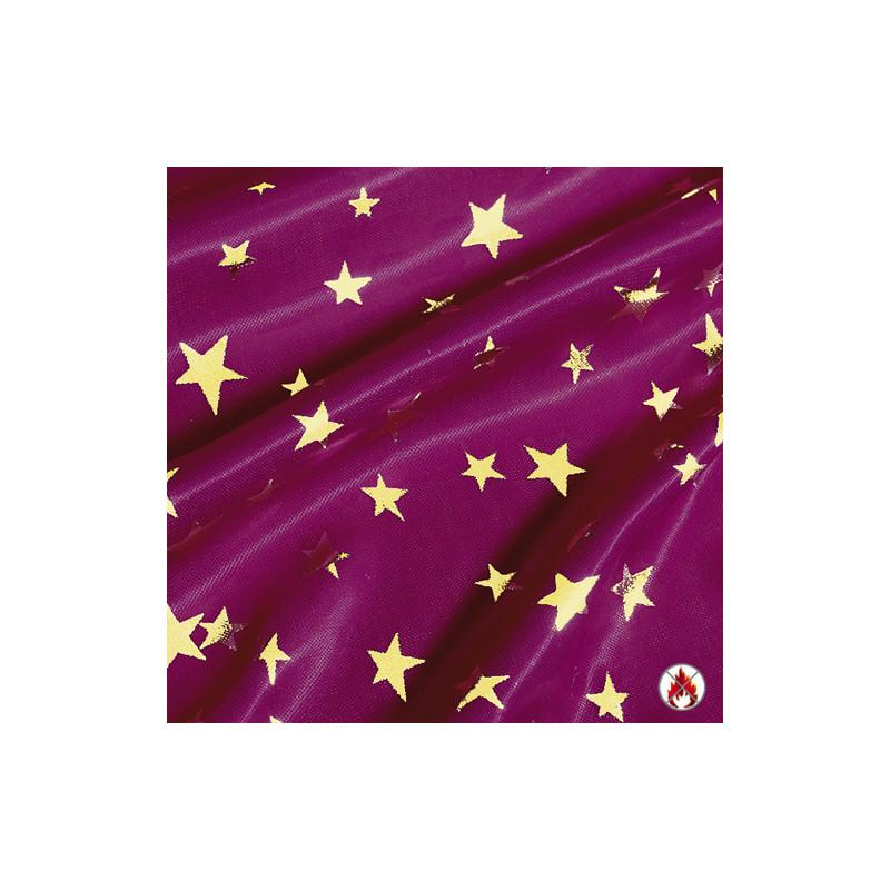 """Tissu ignifugé """"STAR NIGHT"""" L'Ensemblier-Equip'Pro"""