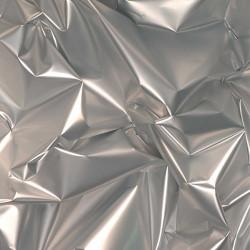 PVC métallisé argent /...
