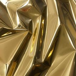 PVC métallisé or / Argent 70cm