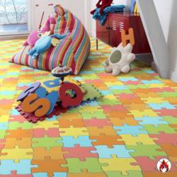 """Revêtement de sol PVC """"Puzzle"""""""