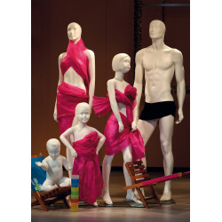 Famille de mannequins économiques