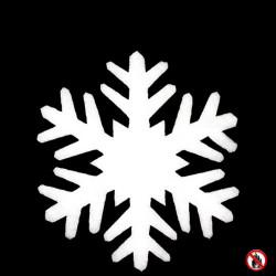 Cristaux de neige 75 cm