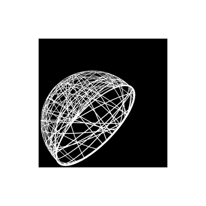 Demi sphère résine 40 cm