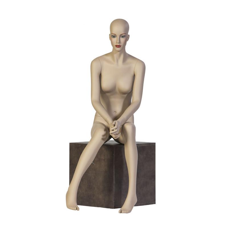 "Mannequin Chanel Femme assise ""Adeline"""