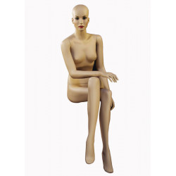 """Mannequin Chanel Femme assise """"Edwige"""""""