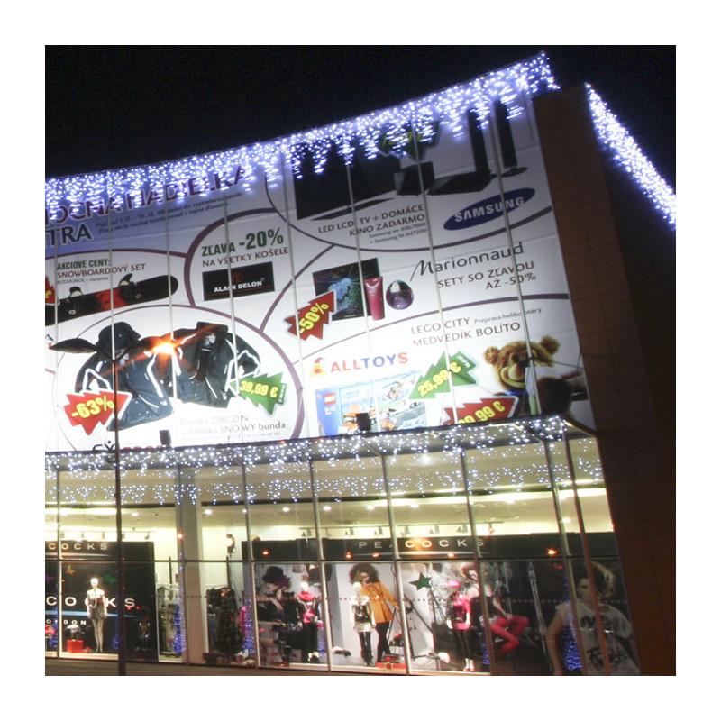 """Rideau lumineux """"ICICLE FLASH LED"""" 300 x 140 cm -blanc"""