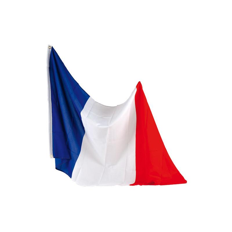 Drapeau  tissu France 90 x 150 cm
