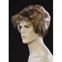 Perruque homme cheveux blond