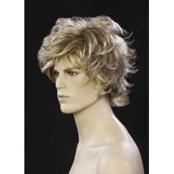 Perruque homme blond mi long