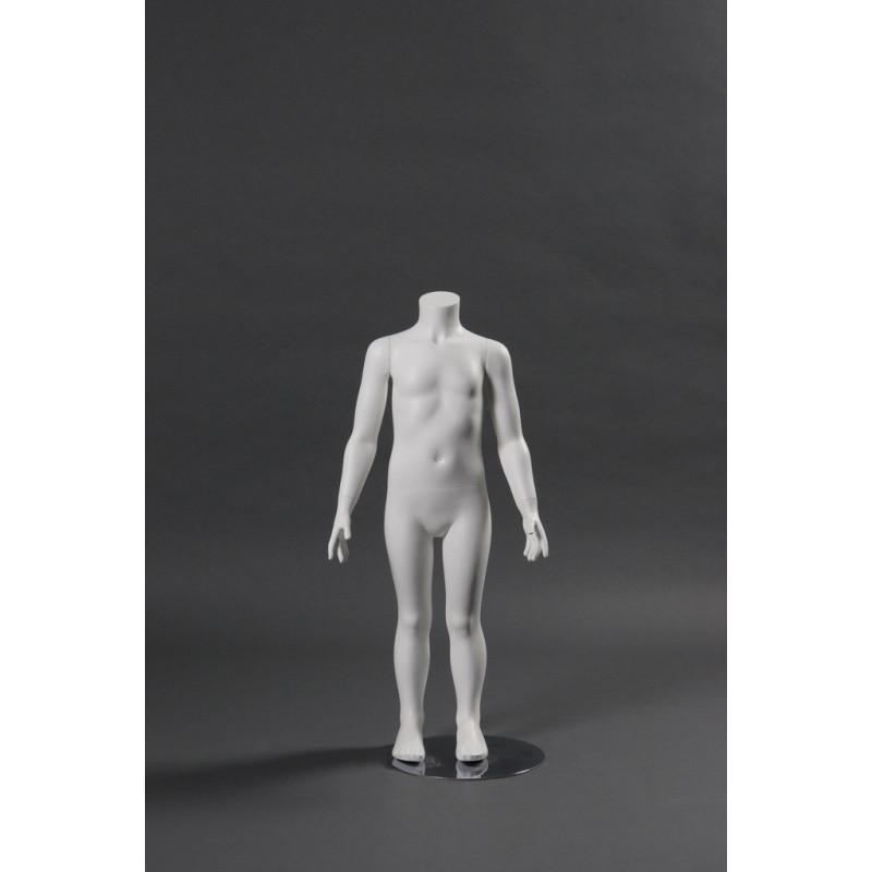 Mannequin Illusion Junior 2-4 ans sans tête.
