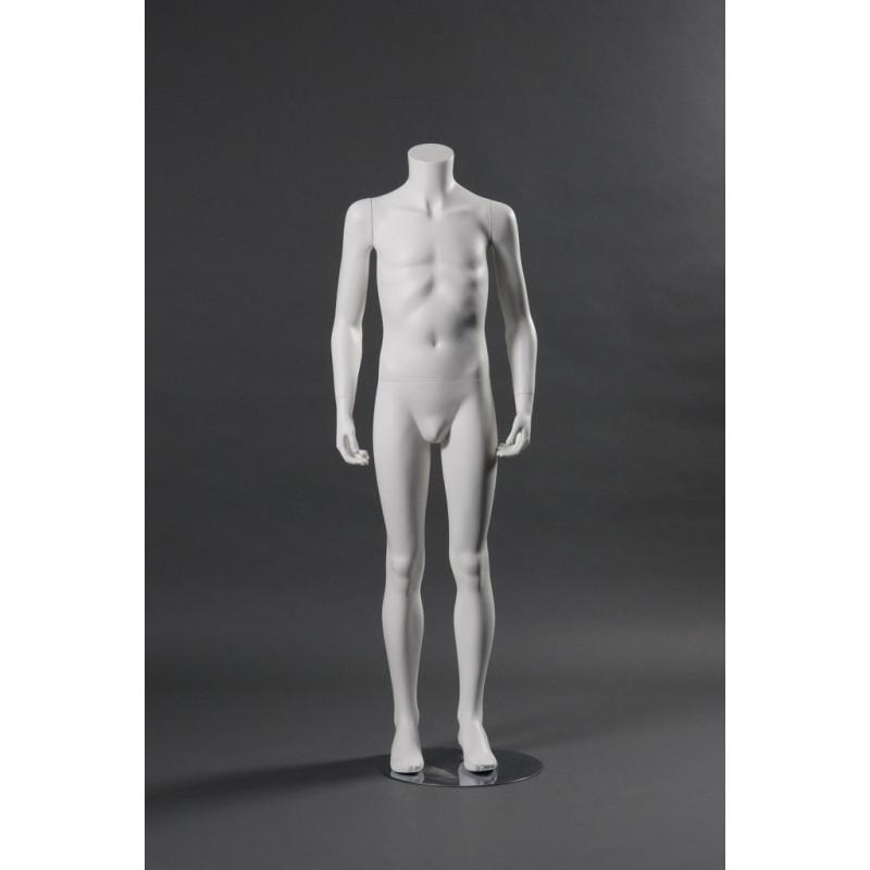 Mannequin Illusion Junior  garçon 10-12 ans sans tête.