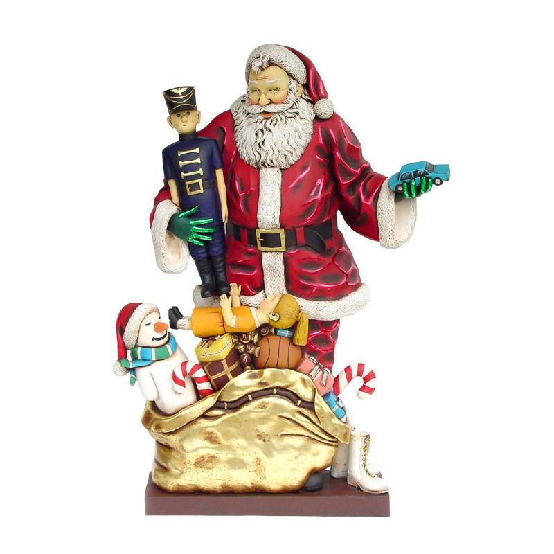 Père Noël et ses jouets