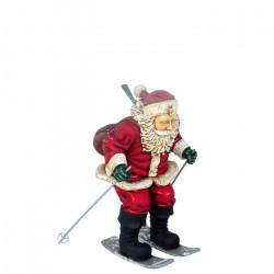 Père Noël Skieur 91 cm