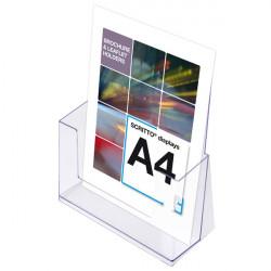 Porte brochure plexi A4