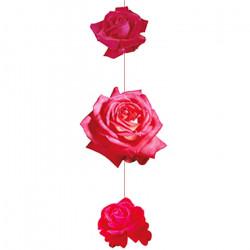 Mobile 90 cm de 3 roses