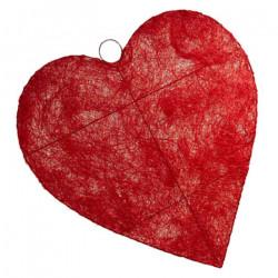 Coeur en SISAL 90cm