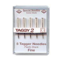 Aiguilles Fines pour Taggy X (boite de 5 pièces)