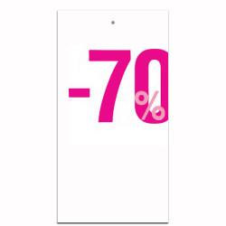 Étiquettes carton -70%