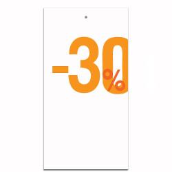 Étiquettes carton -30%