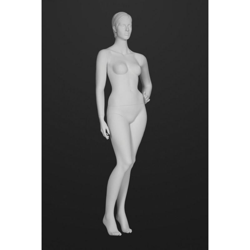 Mannequin Femme T20 Cheveux sculptés