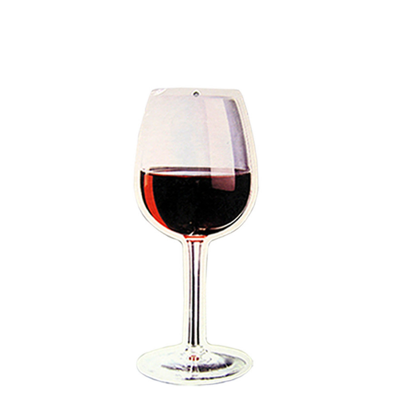 Verre de vin rouge hauteur 48 cm