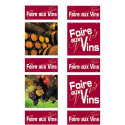 """Kit panneau """"Foire aux..."""