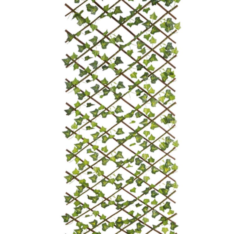 Feuilles de vigne sur treillis extensible 60 x 160 cm