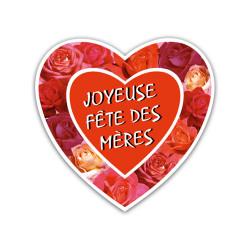 """Coeur """"Joyeuse fête des..."""