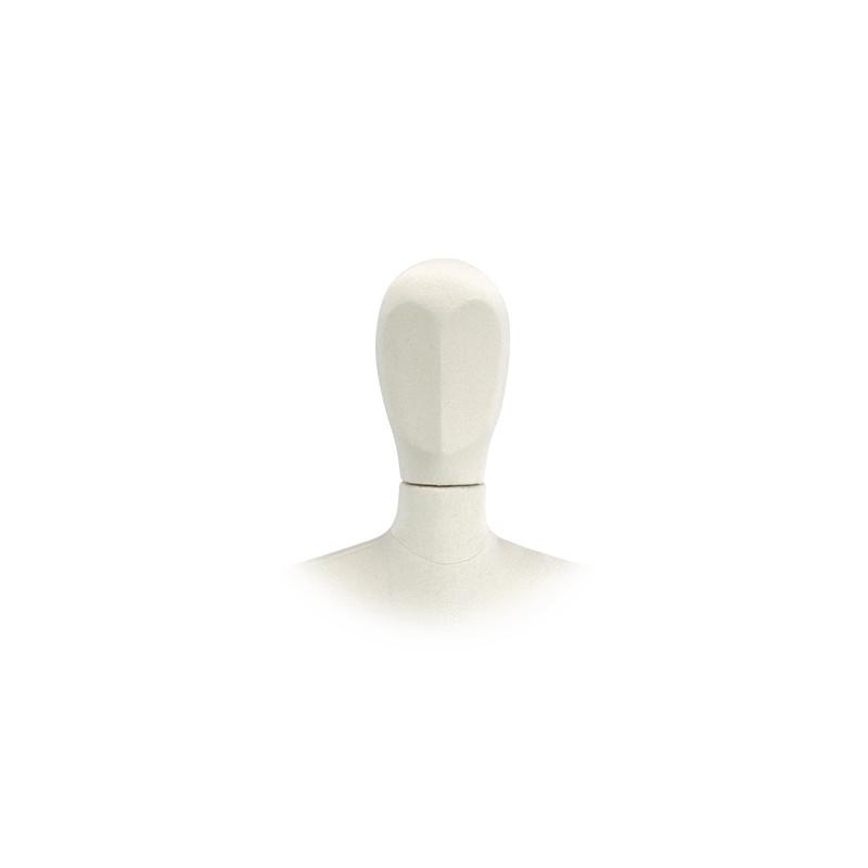 Tête jersey femme pour Mannequin flexible