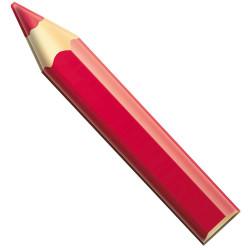 Crayon géant 180cm ROUGE
