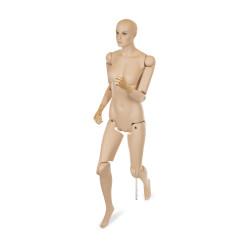 Mannequin Femme articulé multi positions avec tête pour musée